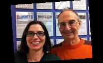 Maria e Bob Logan no SLab, OCAD