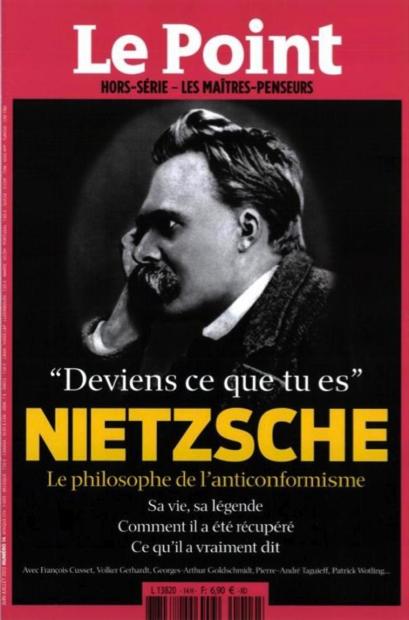 "1. Capa do periódico ""Le Point"", 2013."