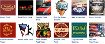 (alguns Food Trucks no Facebook)
